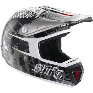 CASCO MX SHIFT AGENT DFACOLOR NEGRO TALLA S