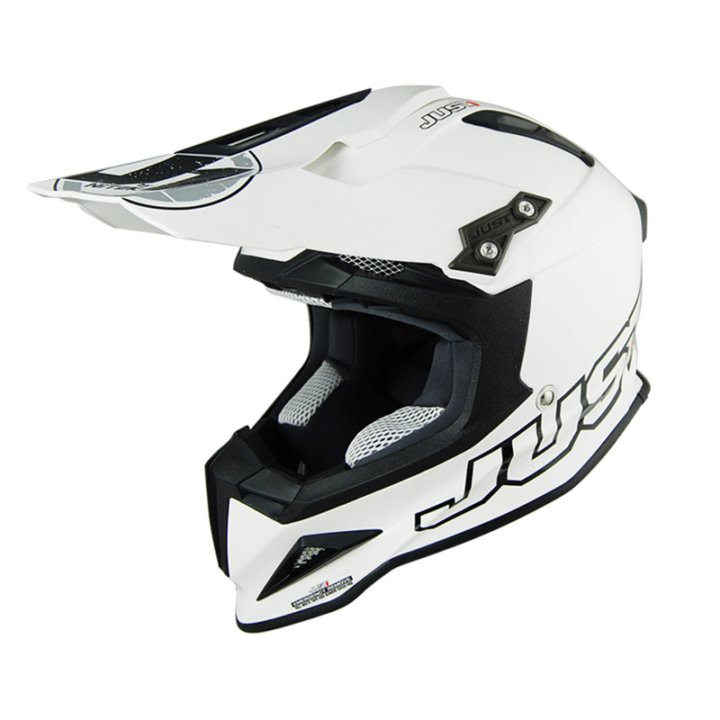 Casco Just1 J12 blanco