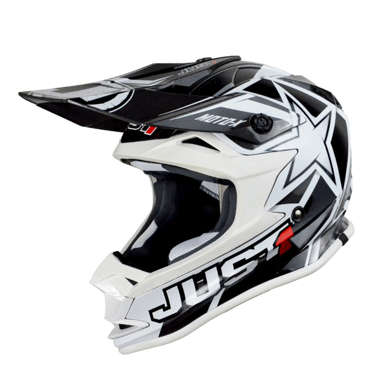 Casco Just1 J32 Moto X blanco