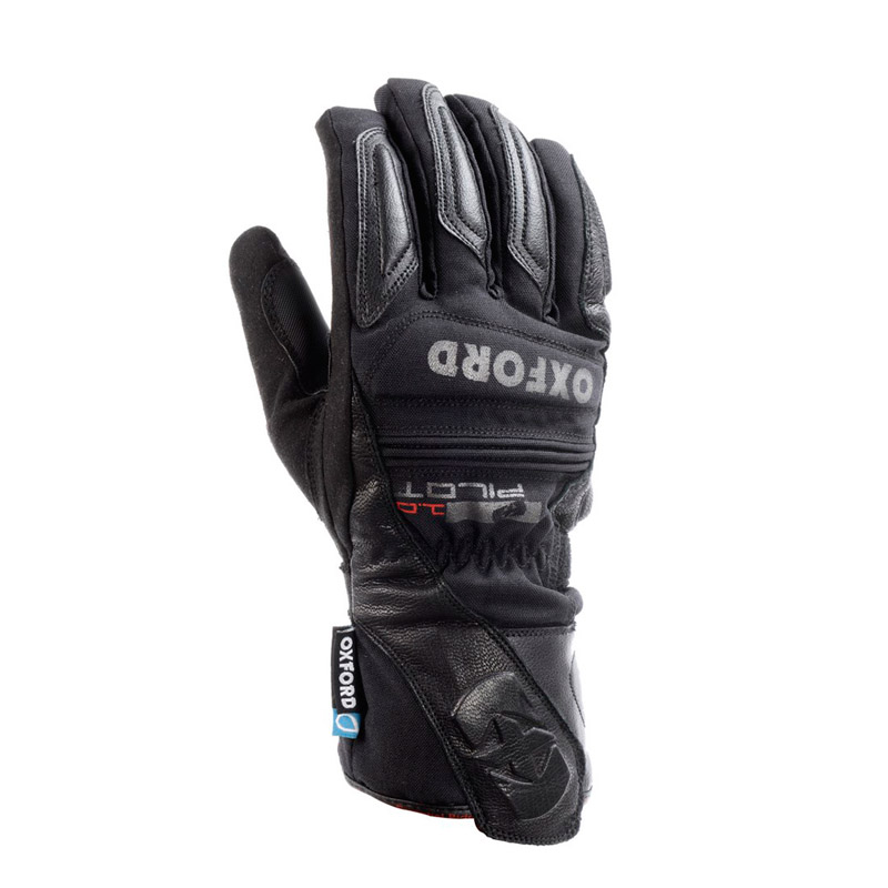 Guantes invierno Oxford Pilot waterproof negro