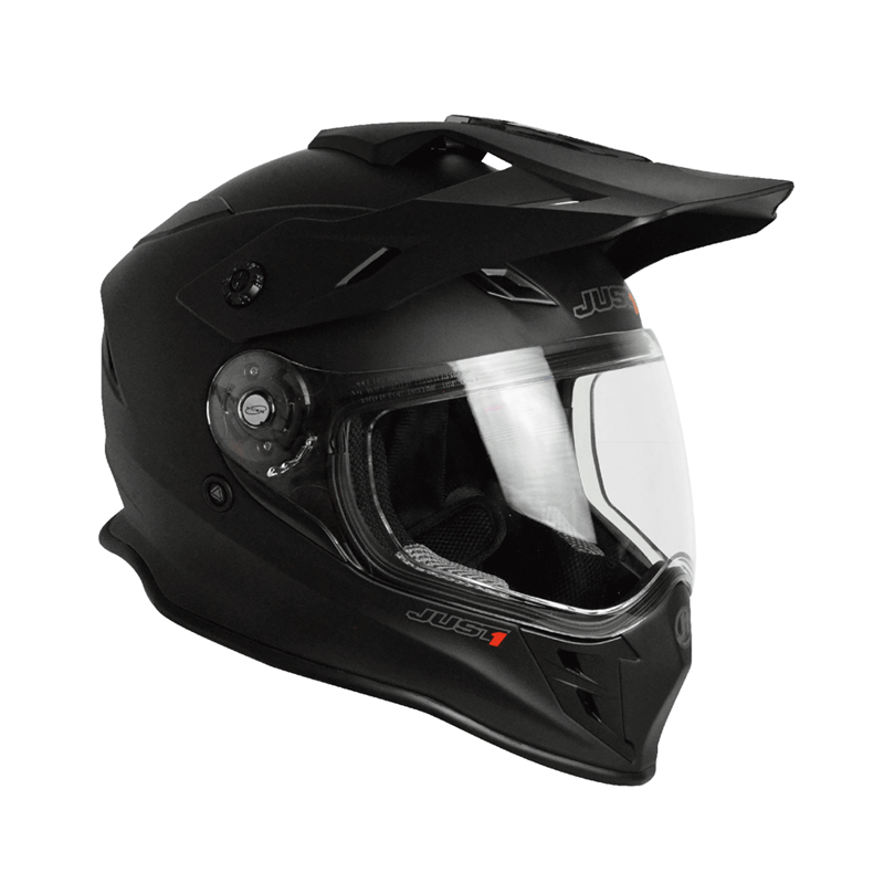 Casco Just1 J34 Adventure negro mate