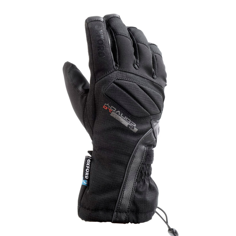 Guantes invierno Oxford Convoy waterproof negro