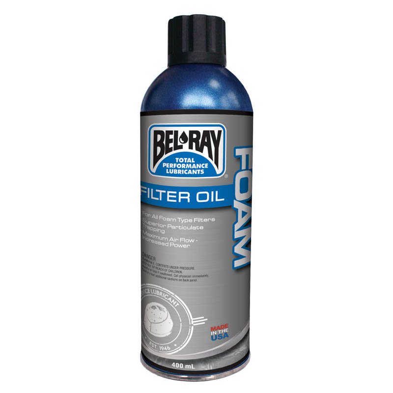 Spray 400 ml Bel-Ray Foam Filter Oil Spray