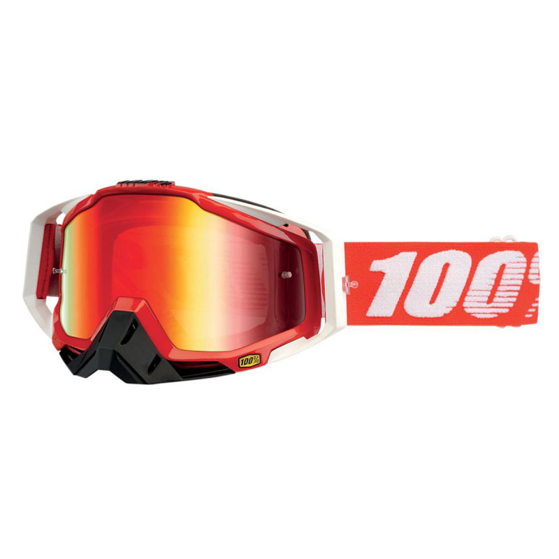 Gafas 100% Racecraft fire red
