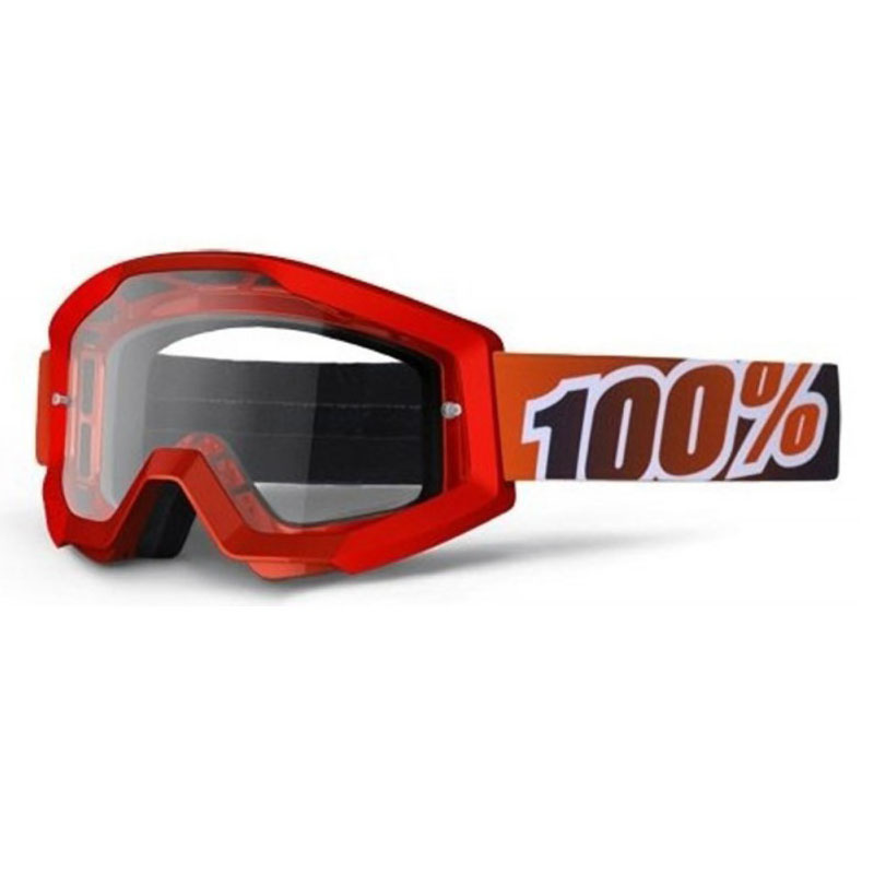 Gafas 100% Strata Fire Red