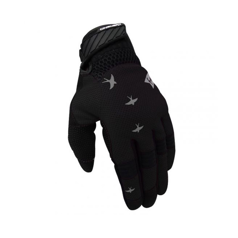 Guantes FREE mujer Negro/Gris